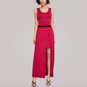BCBGMAXAZRIA Sangria Twofer Knit Dress XS NWT